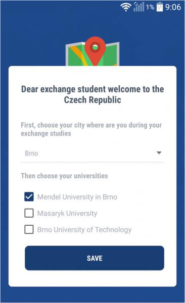 CZ Erasmus app | ESN Czech Republic